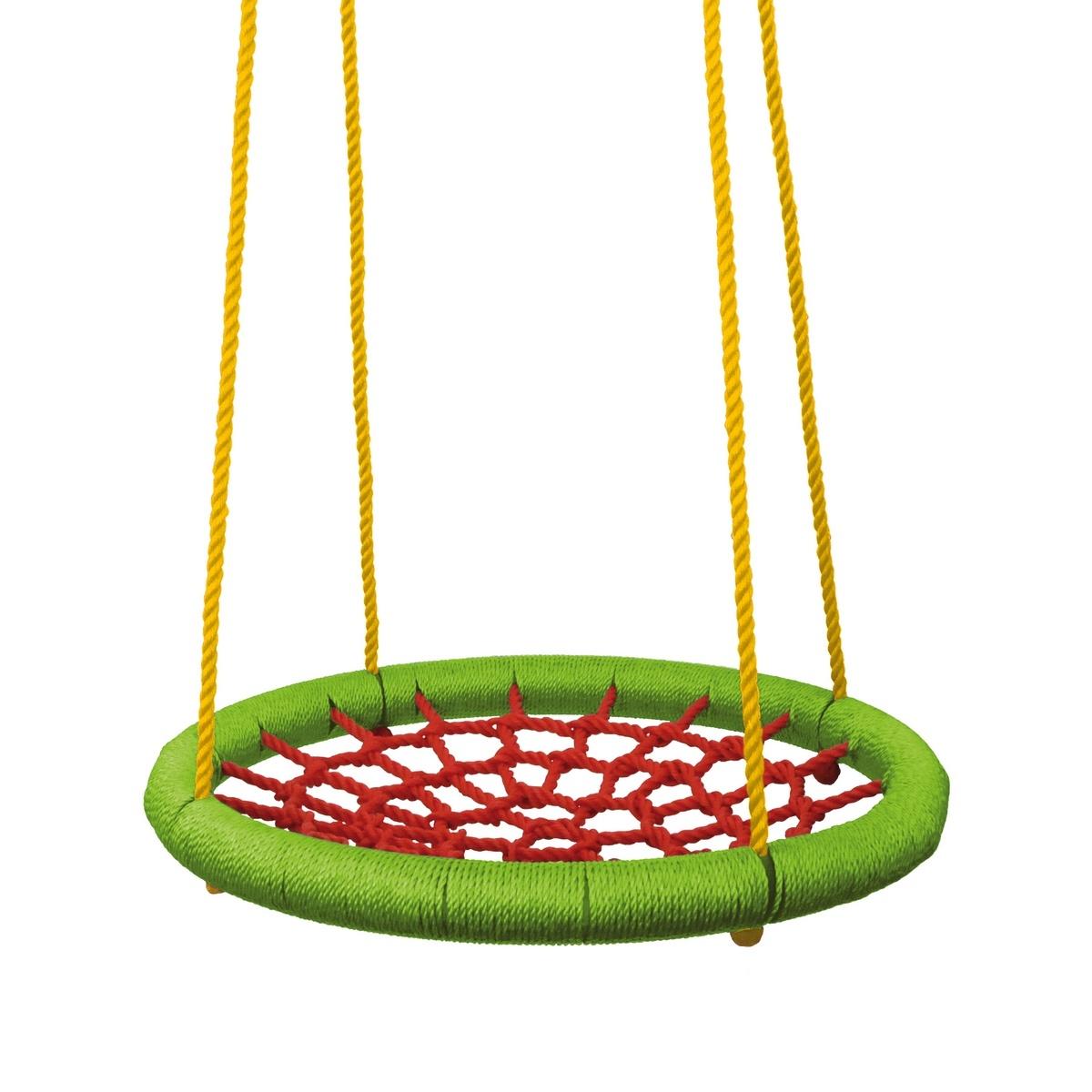 3 kroky, ako premeniť záhradu na detské ihrisko - visiaca hojdačka