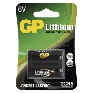 Lítiová batéria GP 2CR5